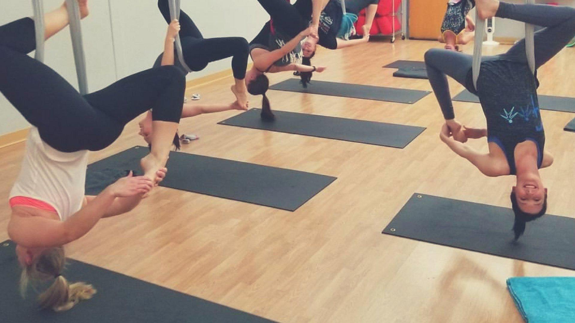 Aerial Yoga Ci Therapies